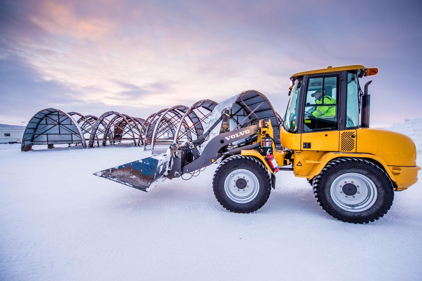 This year, along with the classic Icehotel, a permanent Icehotel 365 will be constructed