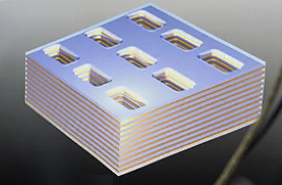 The nanoscale topological manipulation of the new metamaterial means that the magnetic hyperbolic dispersion occurring in the metamaterial can be tuned to specific frequencies and intensities