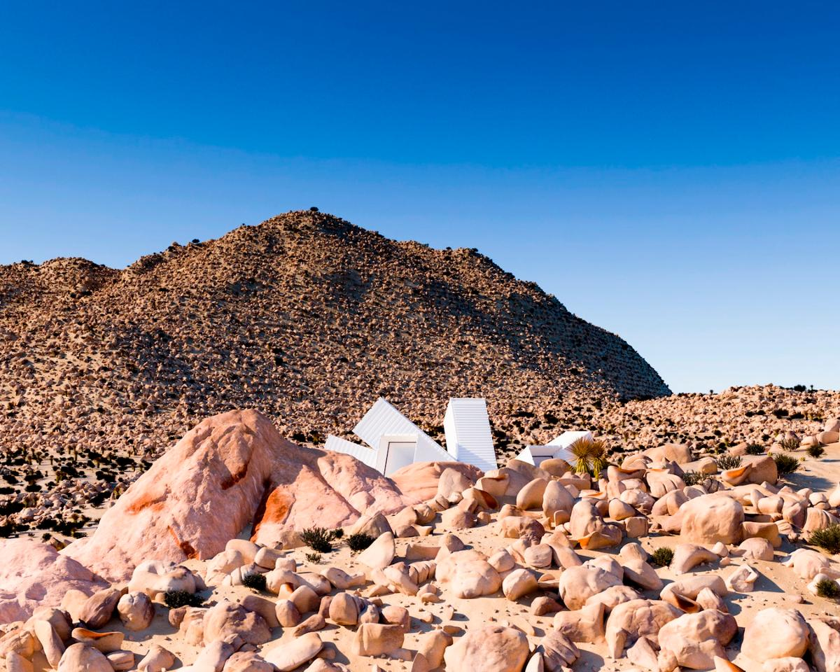 The Joshua Tree Residence is slated for a 90-acre (36-hectare) plot in Joshua Tree, California