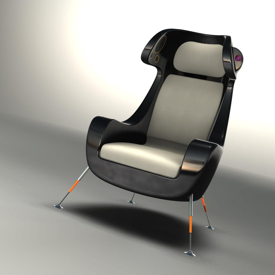 The Media Chair ... plenty of features, style and comfort