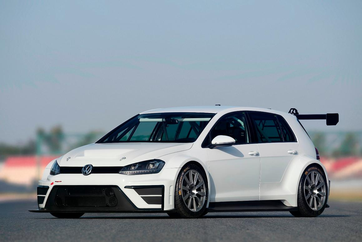 Power comes from the Golf R's 2.0-liter motor