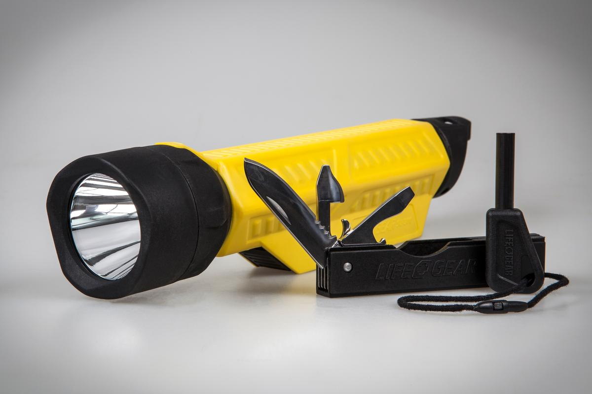The Life+Gear SUF packs some common tools and an LED light in one package