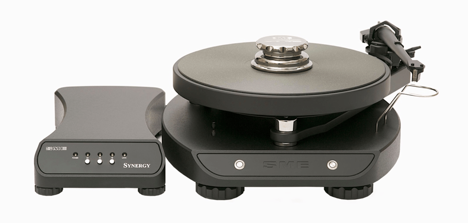 The Synergy turntable is SME's first integrated turntable