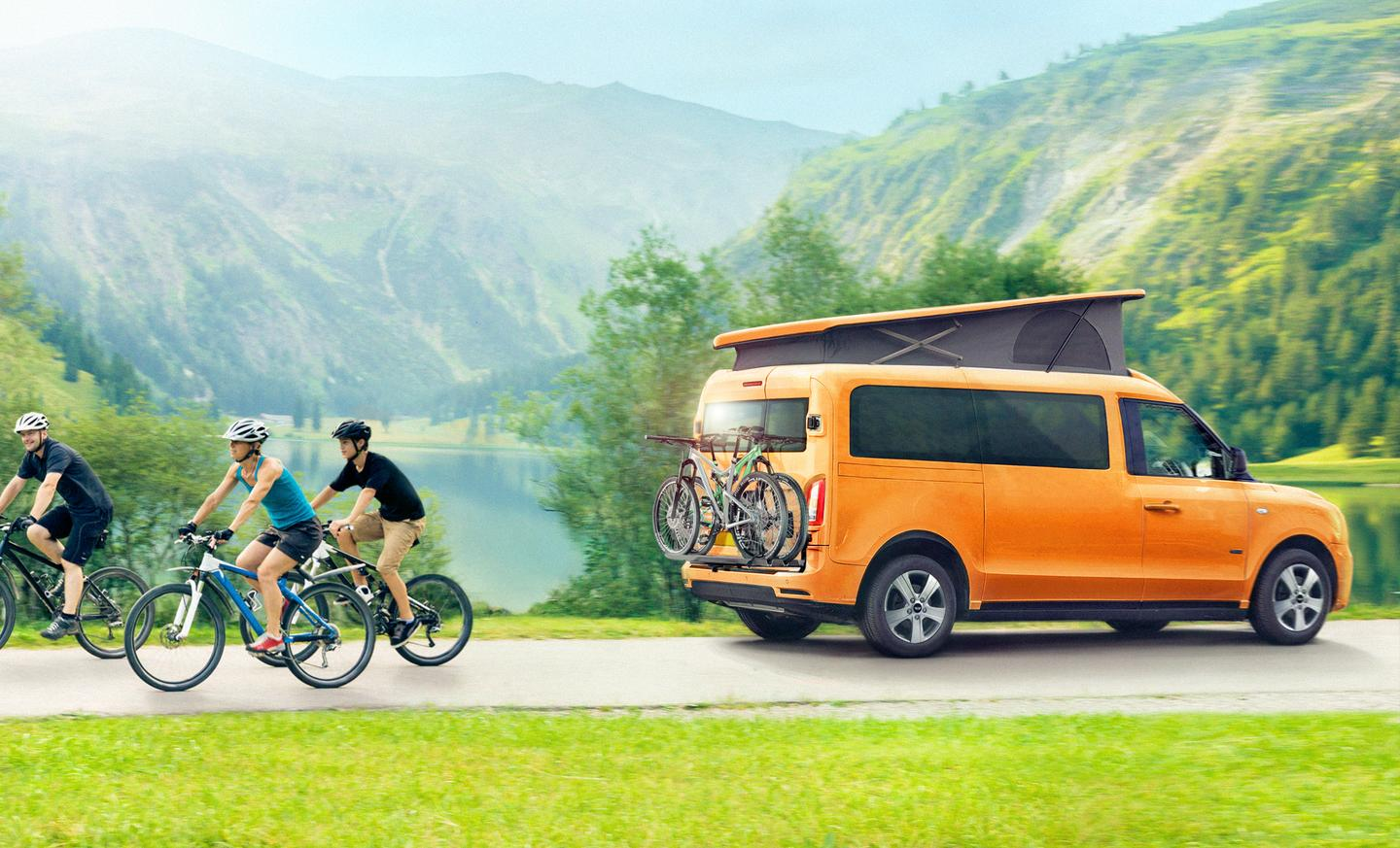 LEVC's all-new e-Camper will become a capable plug-in hybrid camper van for four people