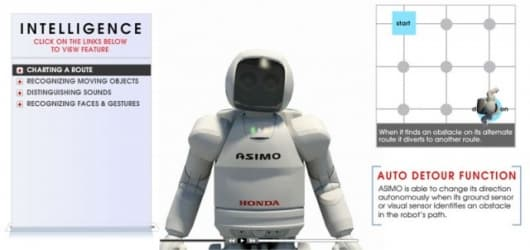 Inside ASIMO - intelligence