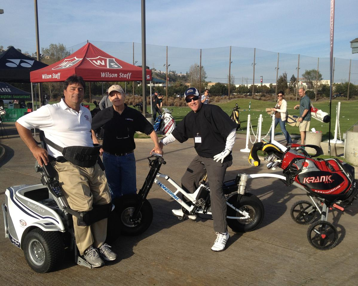 The Links BRINK electric bike developed for golfers