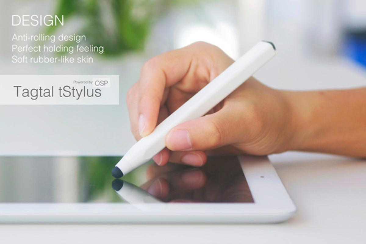 The tStylus allows users to transfer data between devices without pairing