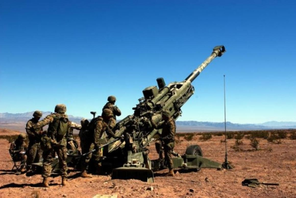 The cannon of the 21st century - the Howitzer M777