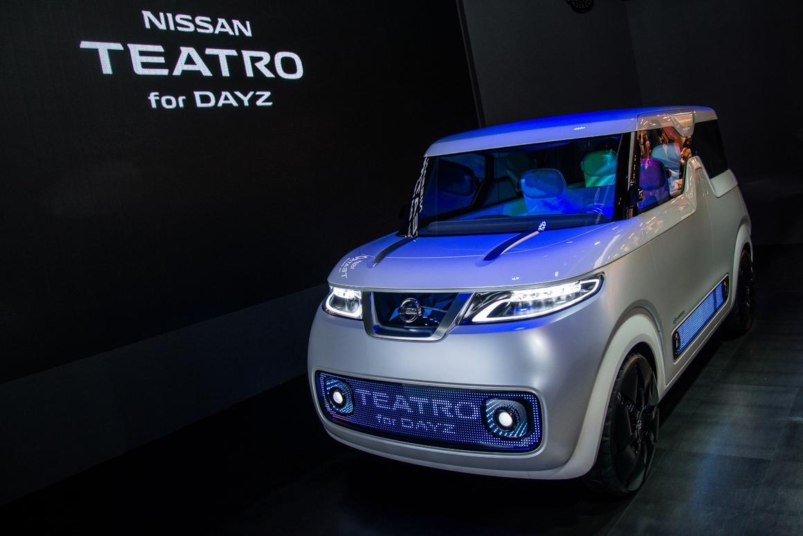 Nissan Teatro for Dayz premieres at the Tokyo Motor Show