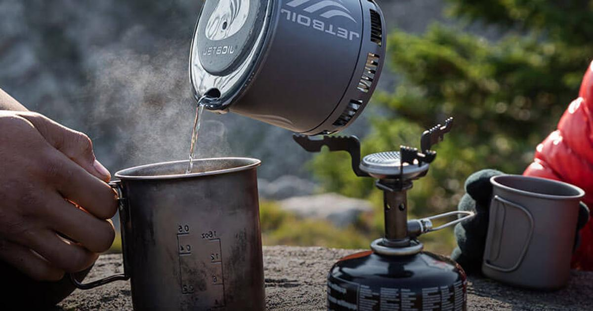 Jetboil's lightest backpacking stove yet weighs just 7.1 oz