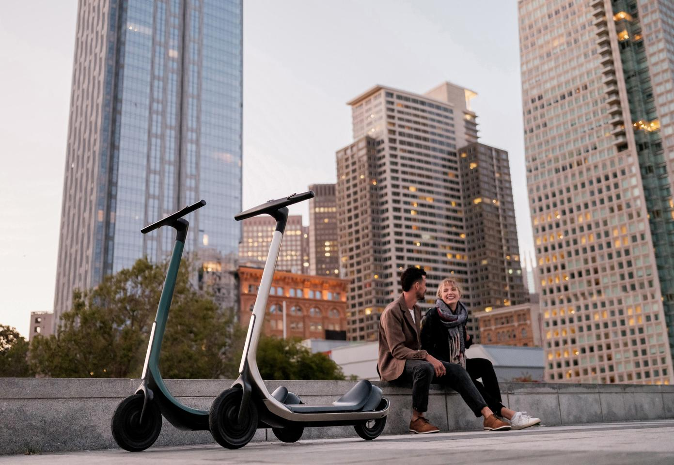 The Scotsman e-scooter is available in three model variants, with the top ride offering a top speed of up to 45 mph and per-charge range of 70 miles