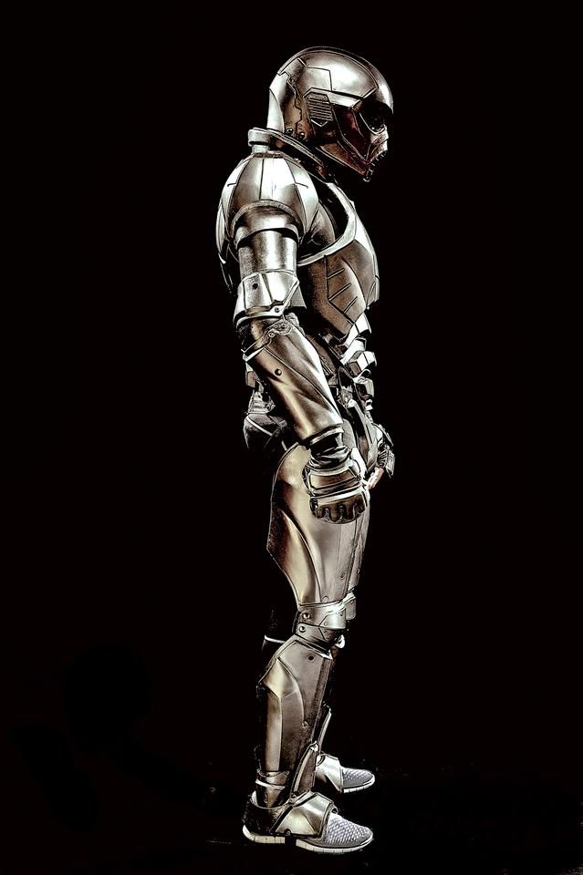 UWM's imposing intelligent armor prototype