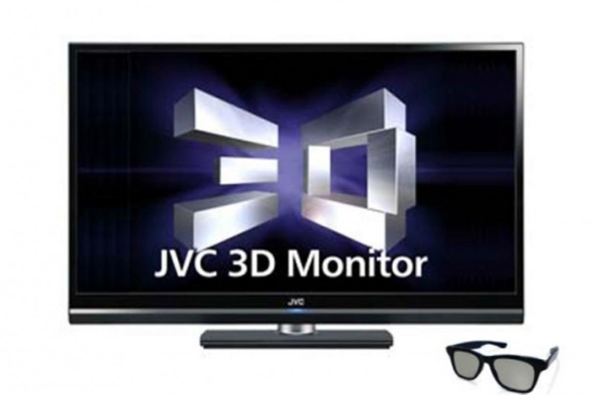 """JVC has launched a 46-inch Full HD 3D LCD monitor that will deliver professionals """"a natural, flicker-free visual experience"""" in 3D"""