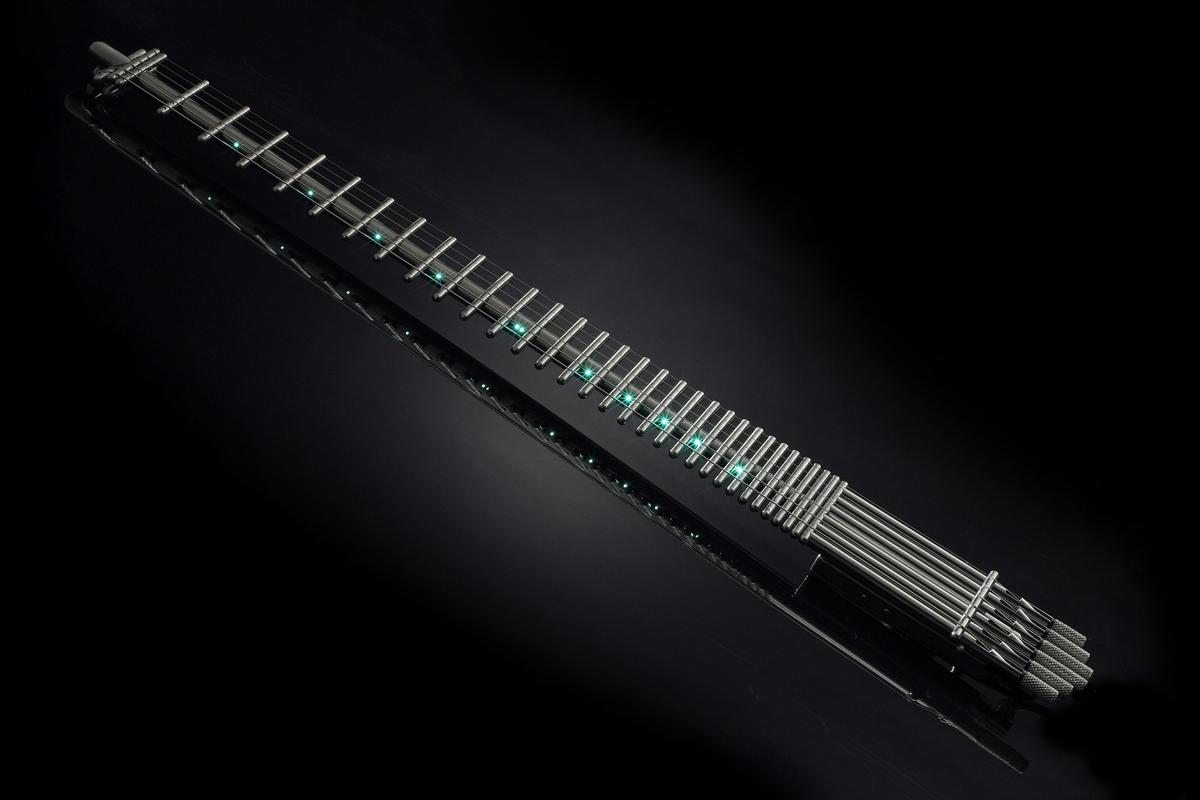 Gittler Instruments has updated and relaunched the minimalist icon, the 31-fret Gittler guitar