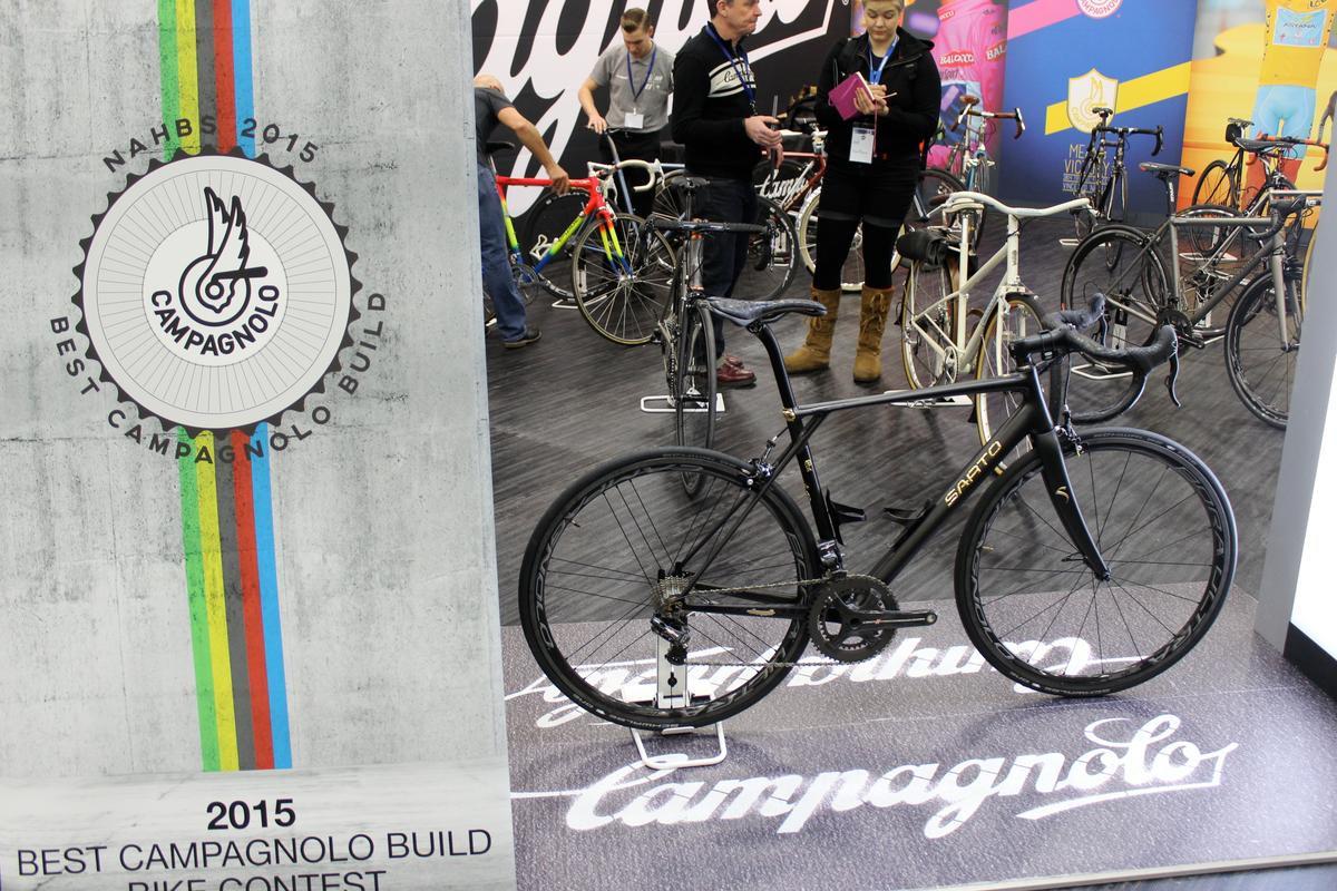 The Sarto 18K on display at NAHBS 2015 in Louisville, Kentucky (Photo: Ben Coxworth/Gizmag)
