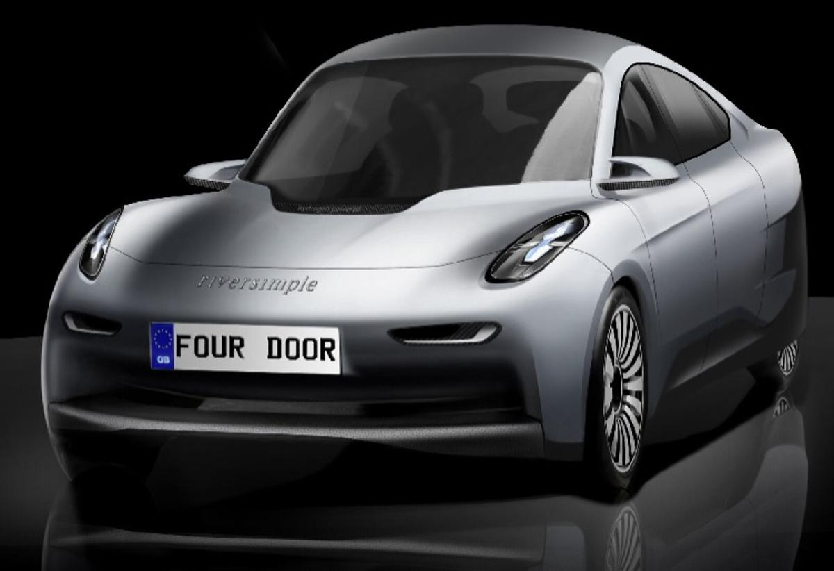 Riversimple has unveiled two new concept models at the London Motor Show, one of which is a stylish four-door sedan