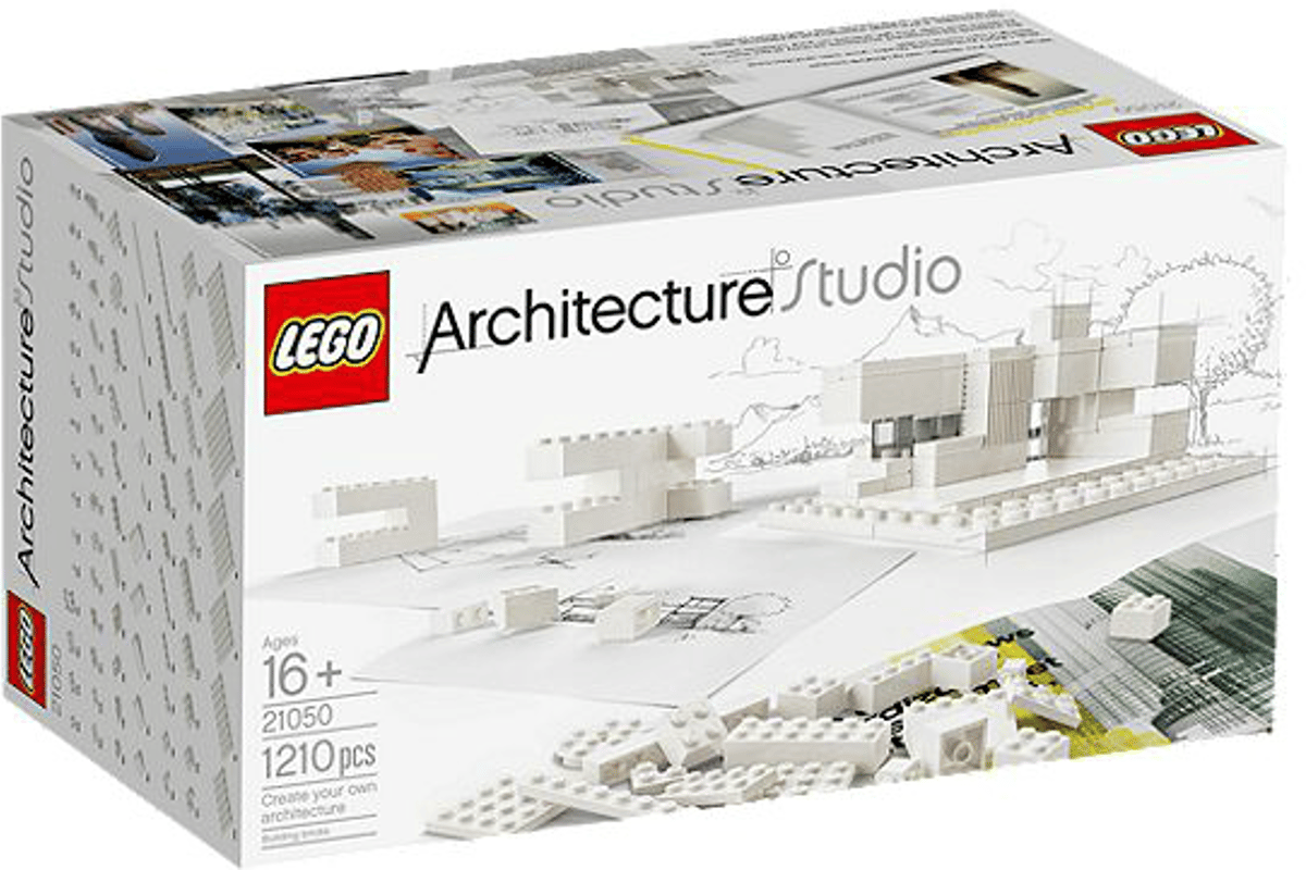 The LEGO Architecture Studio Kit is available now, for US$149.99