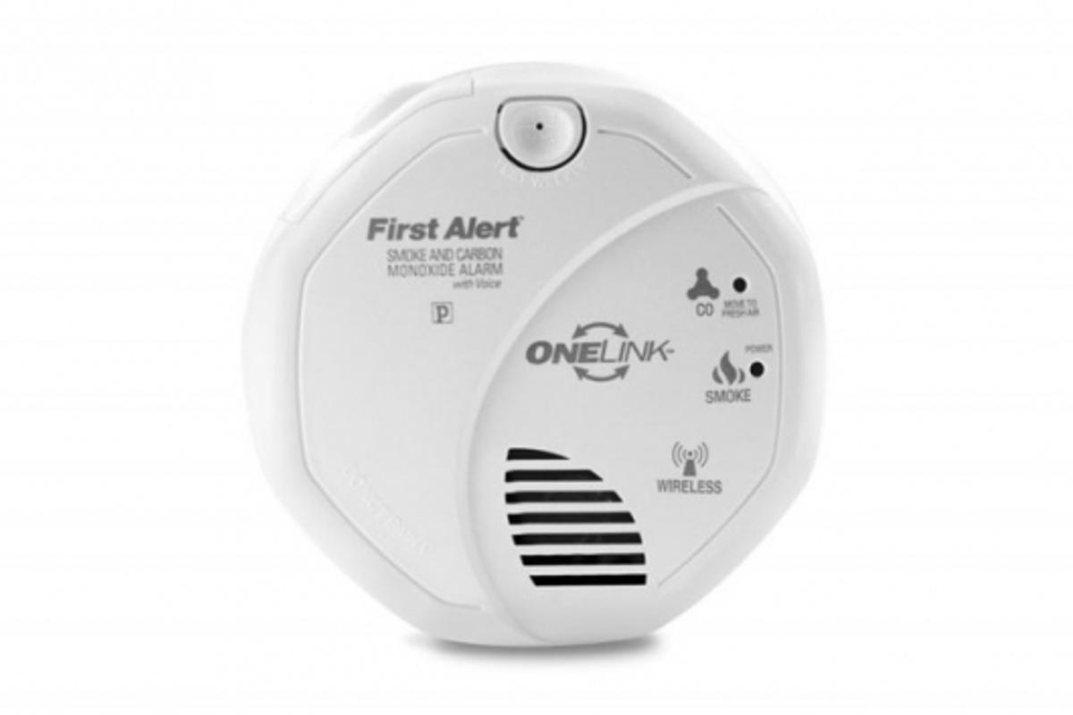 ONELink Carbon Monoxide and Smoke Detector with Voice