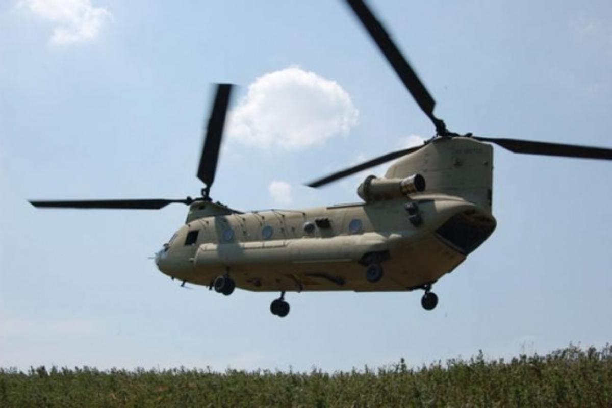 Enhanced safety: the new Chinook (Photo by Gregory Frye)