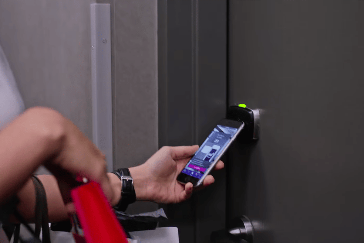 Starwood hopes that the new check-in system will alleviate the stress associated with the traditional front desk check-in (Photo: Starwood)