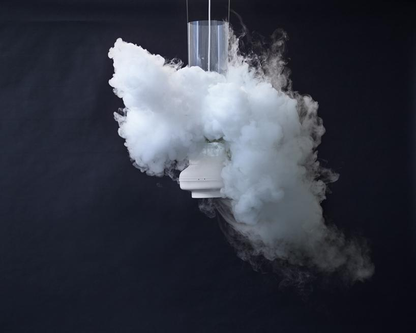 The Nebual 12 concept produces clouds of steam using liquid nitrogen and hot water