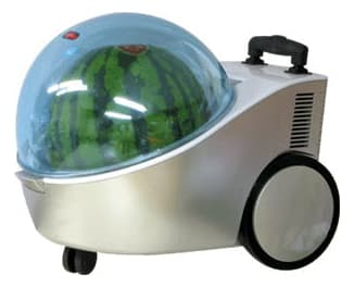The Marugoto Tamachan portable watermelon cooler - and warmer