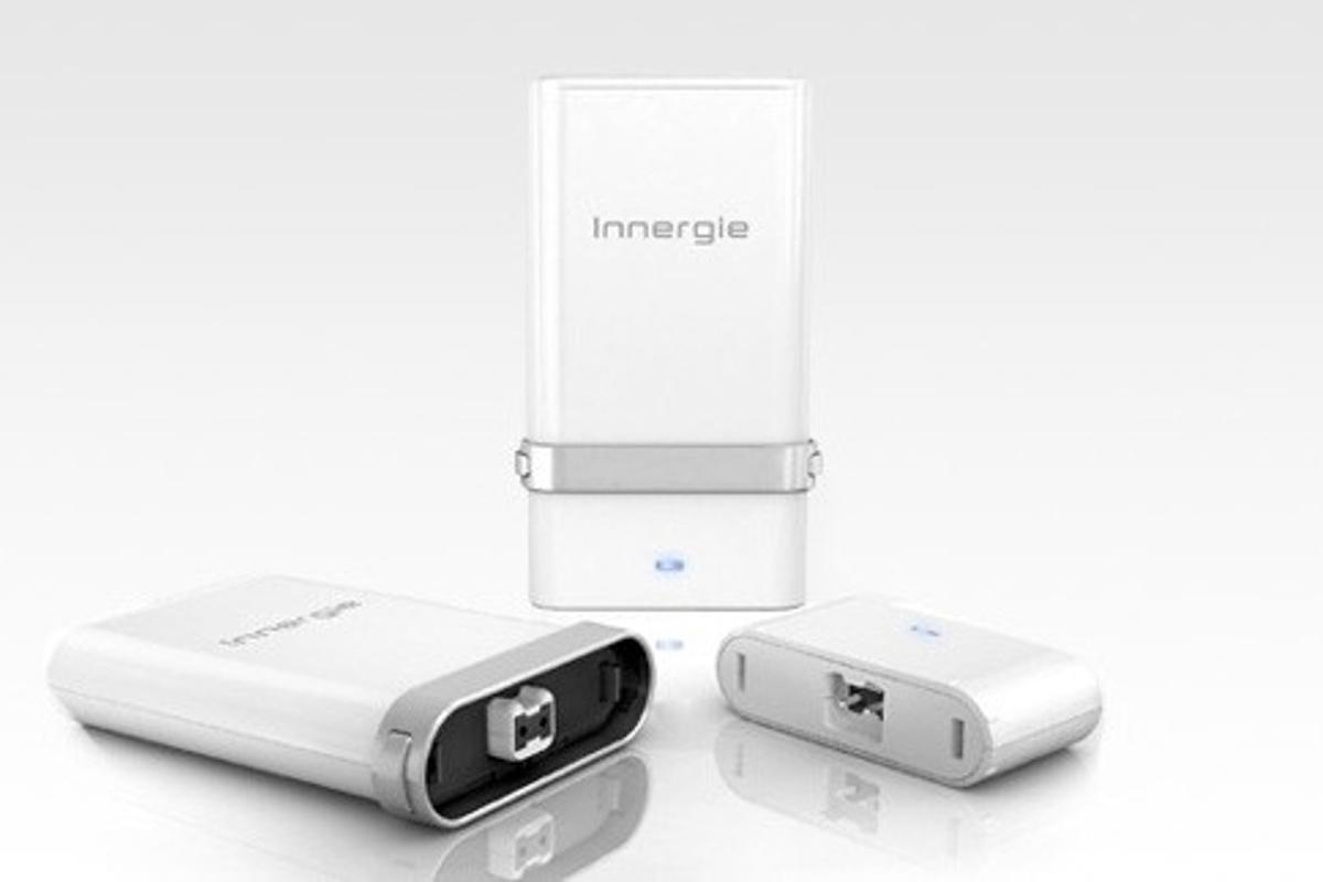 The Innergie mCube90 with detachable adapter for in the car or in the air (Images: Innergie)