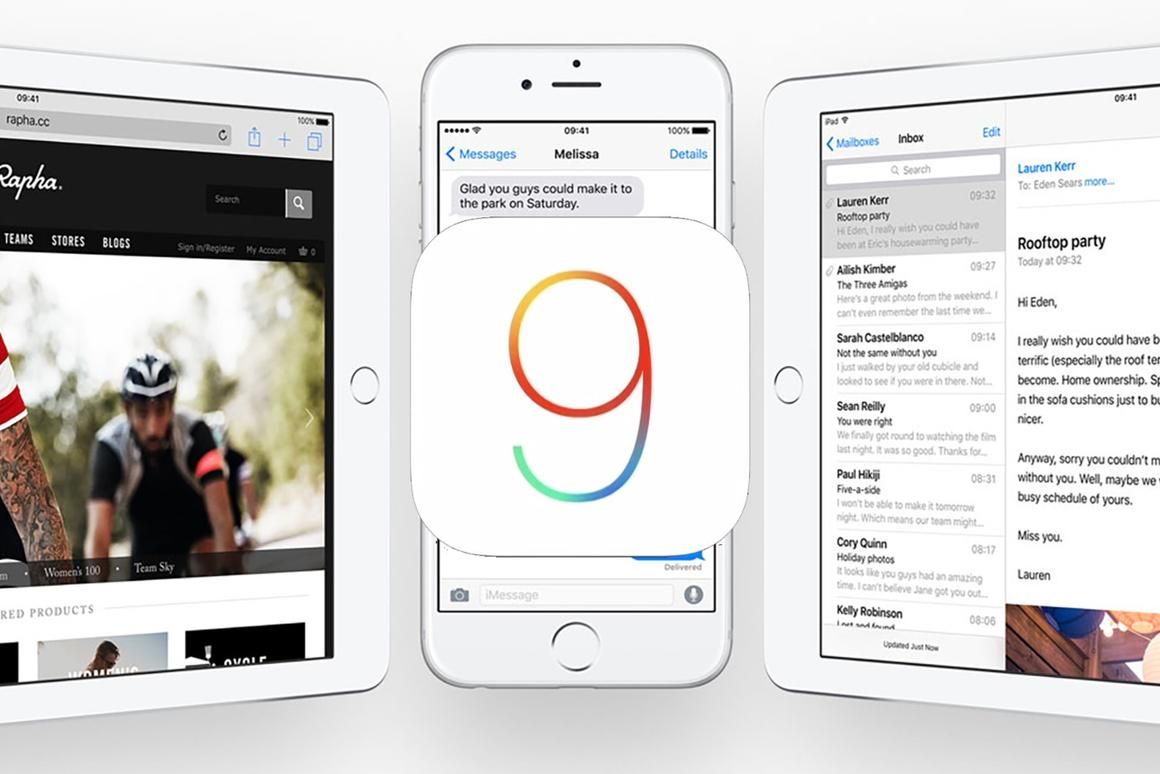 iOS 9 brings with it a pile of new features and functions
