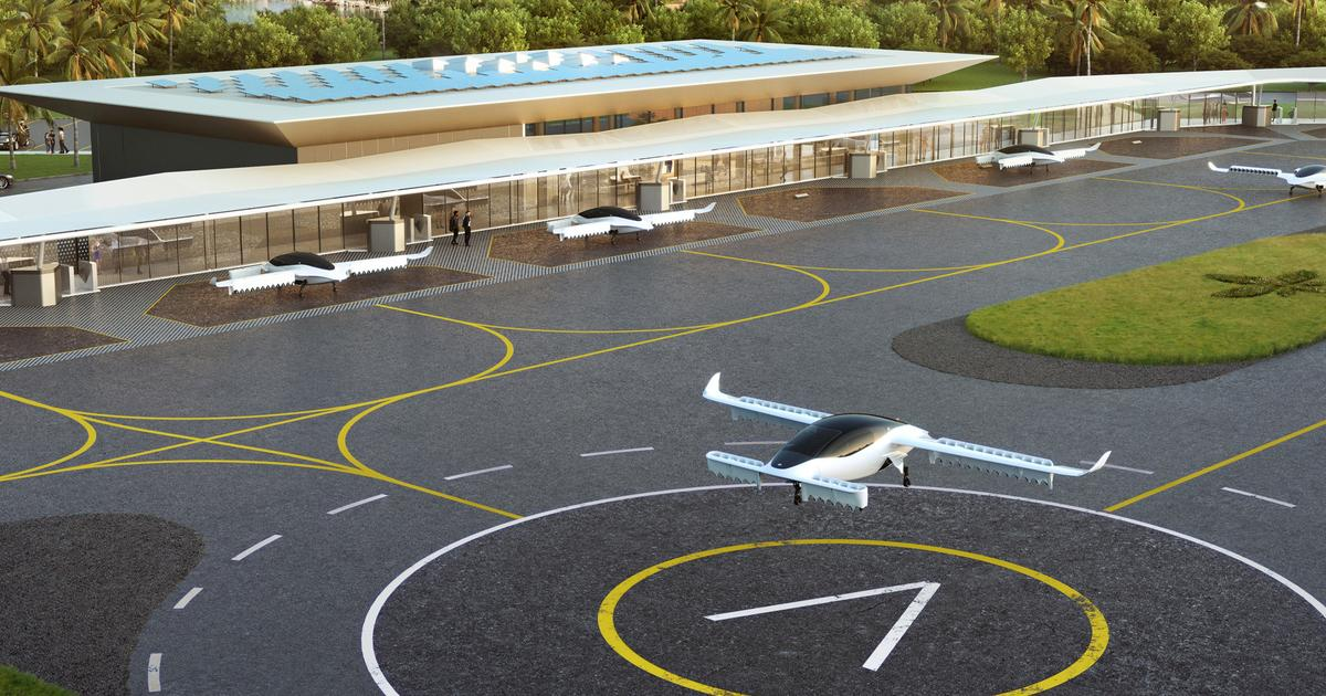 Lilium expands flying taxi vision with 10 stations planned for Florida