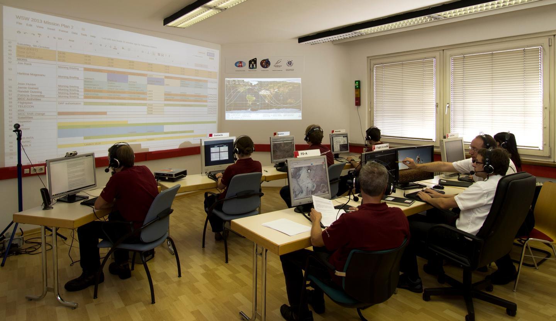 Mission Control Center, Innsbruck, Austria (Photo: OeWF/Paul Santek)
