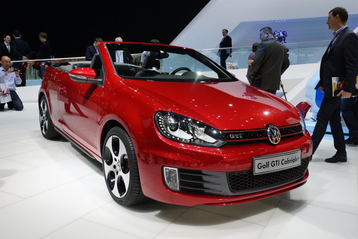 Volkswagen's new 207 bhp Golf GTi Cabriolet