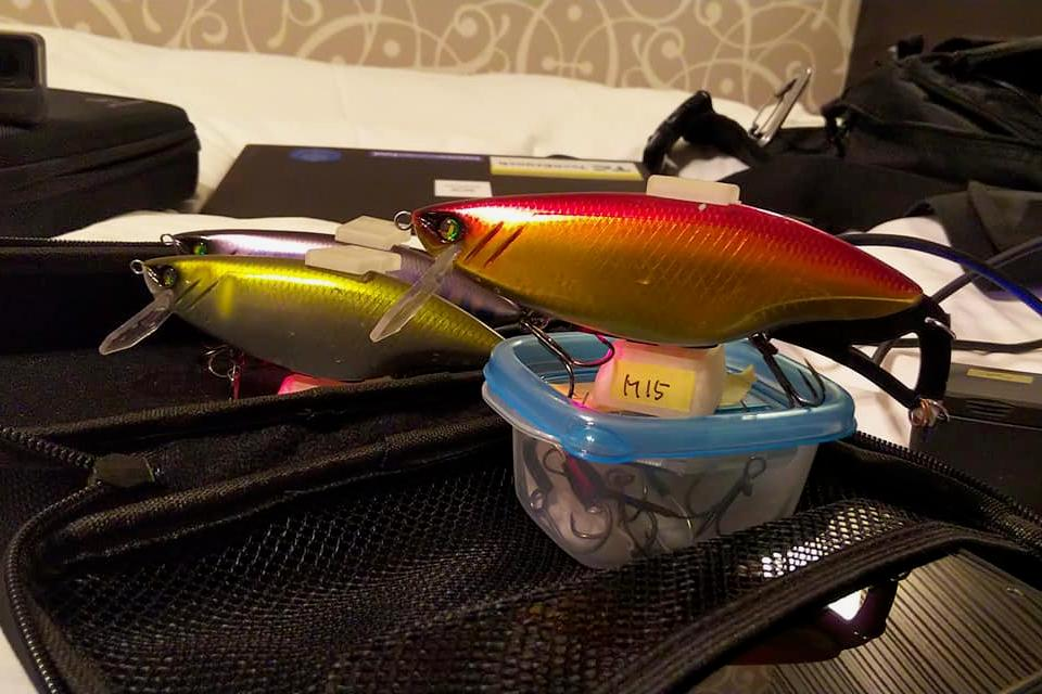 Currently the subject of a Kickstarter campaign, the Model Zero lure is being offered in three colors
