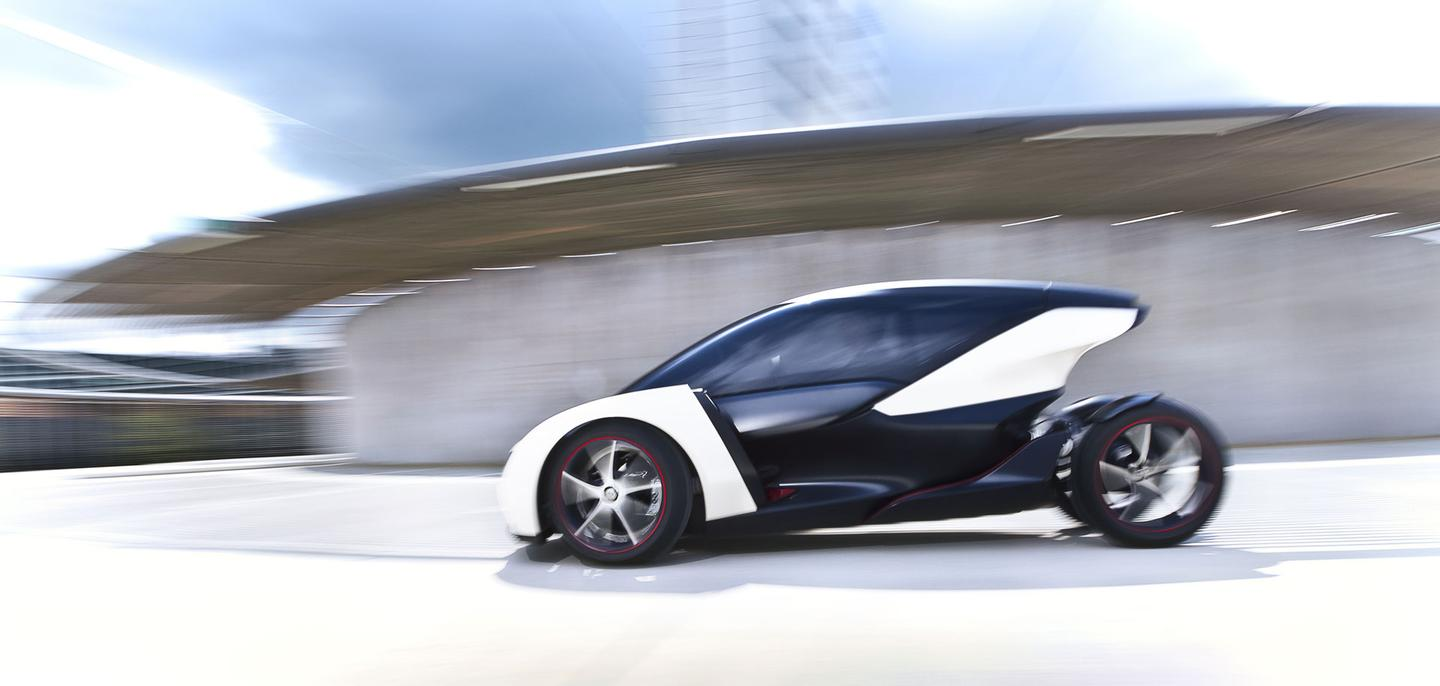 The Vauxhall/Opel EV concept is said to have a top speed of 75 mph