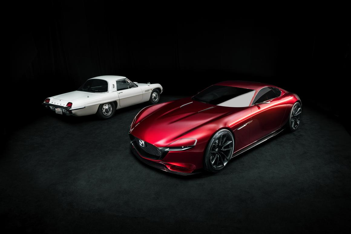 Mazda is celebrating 50 years of the Wankel Rotary