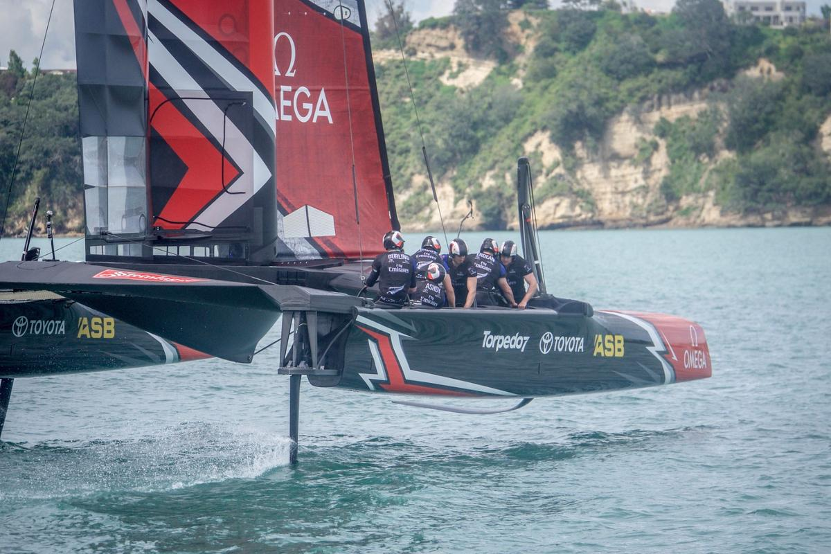 Dainese's Sea-Guard will be used by  Emirates Team New Zealand in the 2017 America's Cup competition