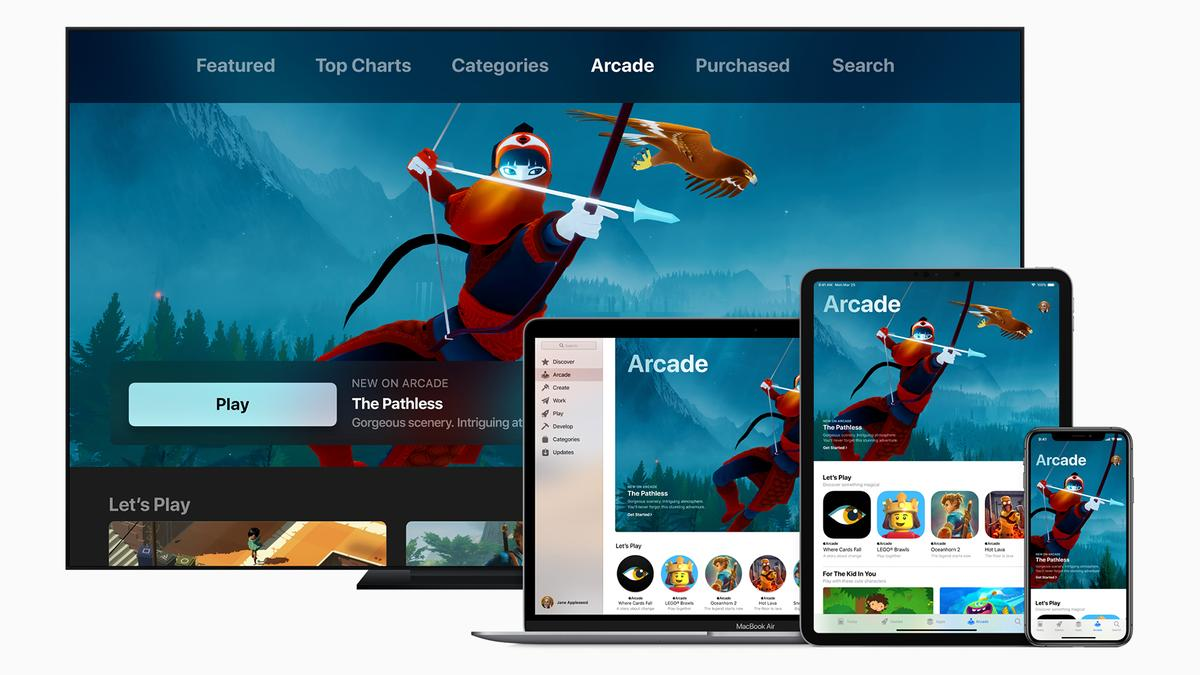 Apple Arcade is just one of the services Apple launched today