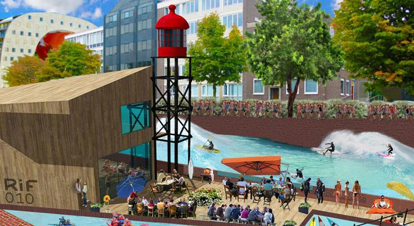 RiF010 project will transform Rotterdam's Steigersgracht Canal into a surfing spot