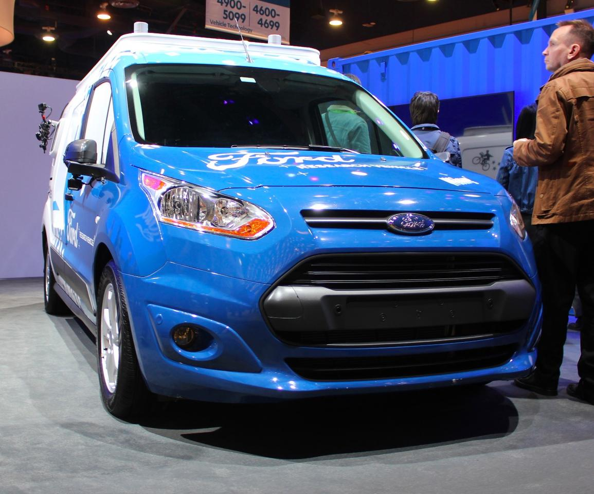 Ford shows off a self-driving delivery vehicle