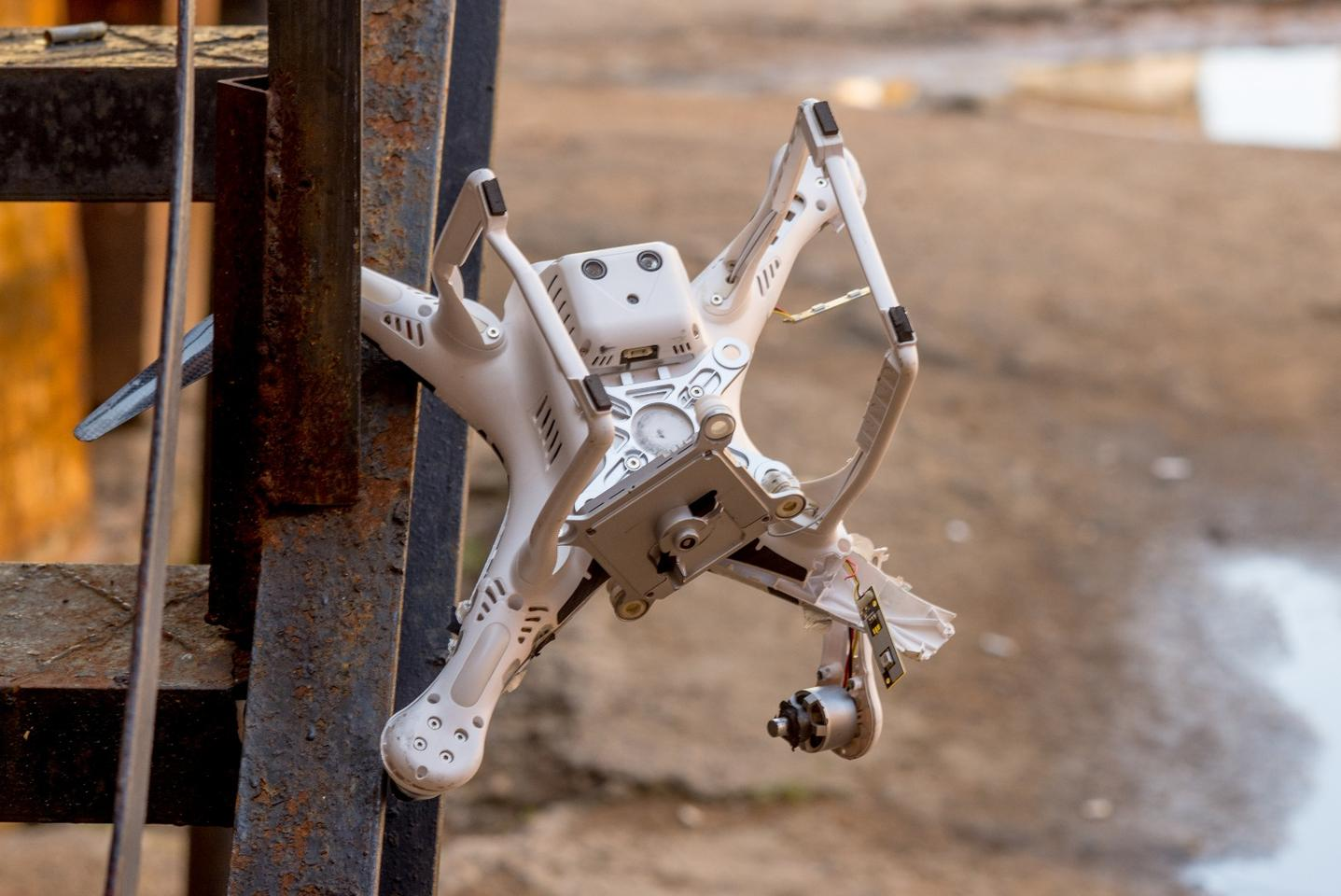 Crashes are currentlypar for the course when training autonomous drones, but perhaps they don't have to be