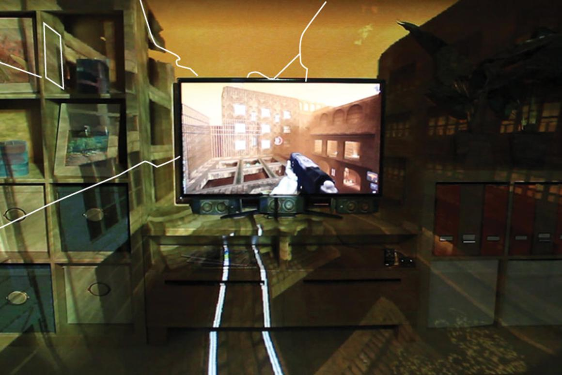 Microsoft has revealed more details about how its IllumiRoom project will expand video games outside of the TV and even alter the appearance of your living room