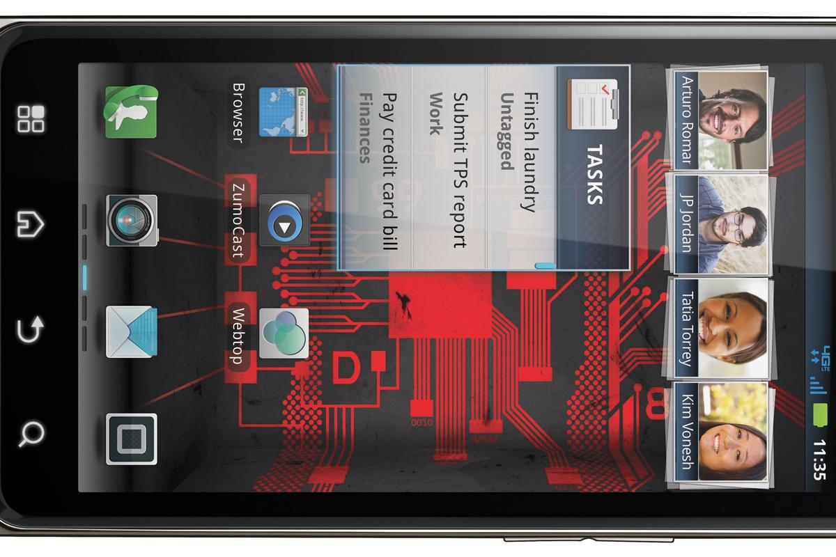 The Motorola Droid Bionic smartphone will be available to consumers starting tomorrow