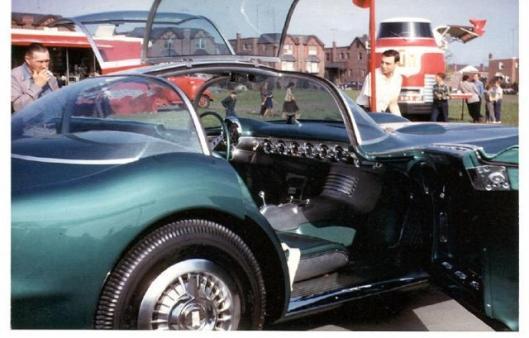 1954 Pontiac Bonneville concept