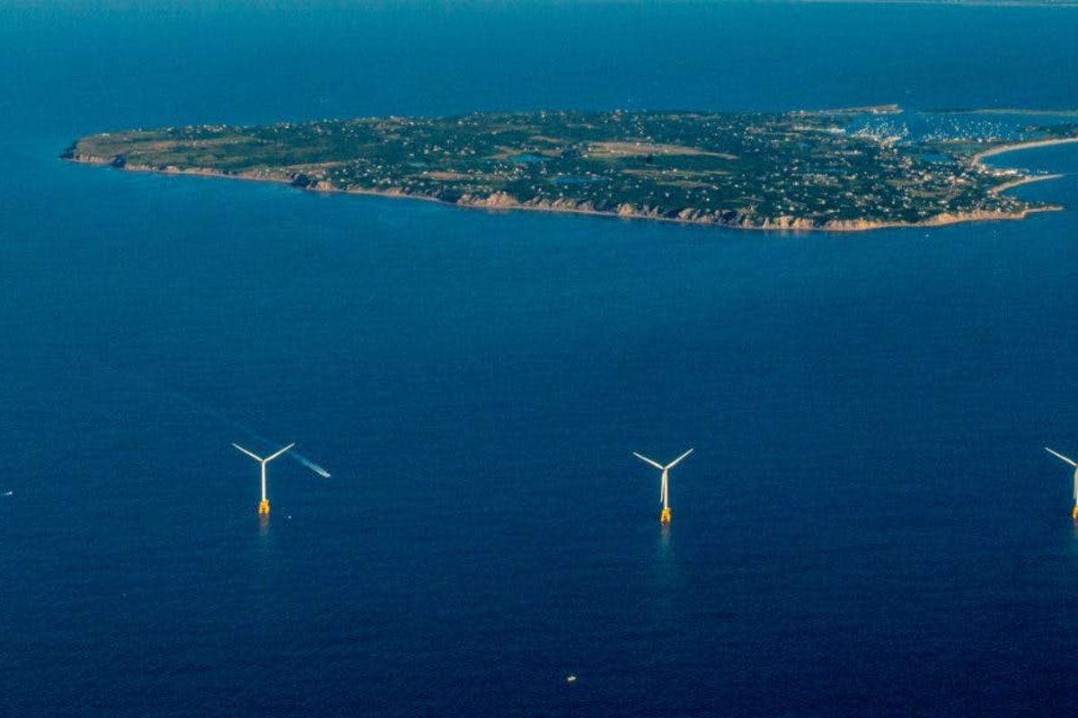 A new study has found that the North Atlantic ocean has the ideal conditions for wind farms, such as the Block Island Wind Farm that opened up off the coast of Rhode Island last year