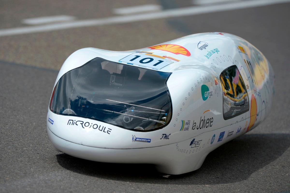 The Microjoule is one of the most successful Eco Marathon challengers