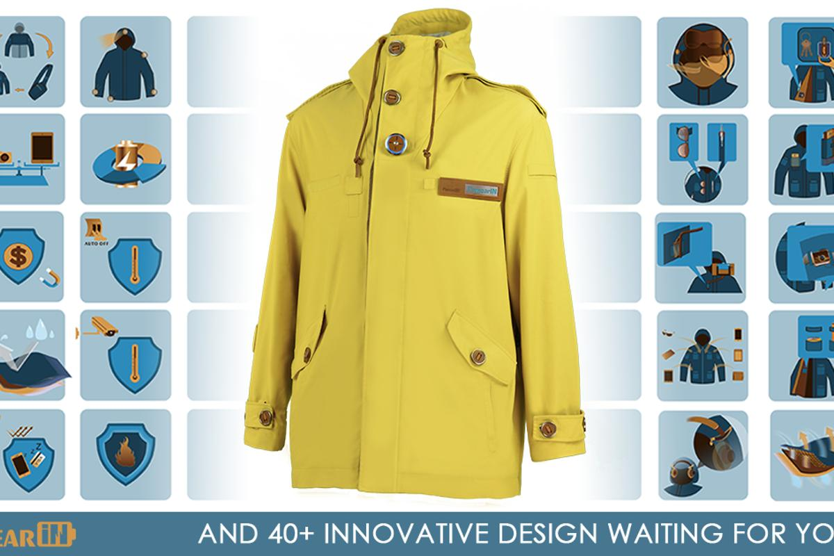 The PowearIN Jacket packs a lot of features – perhaps too many?