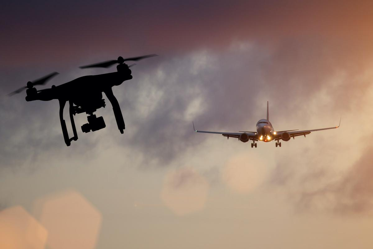 Drones can be particularly dangerous when flown around places such as airports
