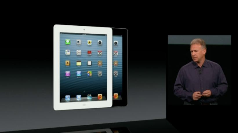Apple has updated its full-sized iPad to 4th generation