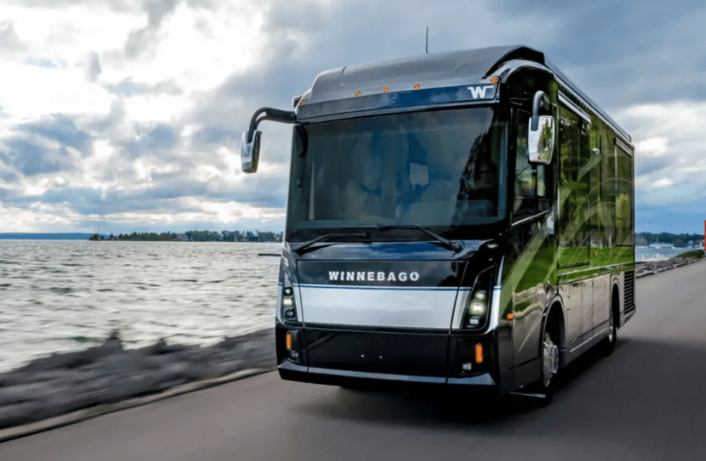 "The 2022 Winnebago Journey debuted at Winnebago's ""Road Ahead"" event this week"