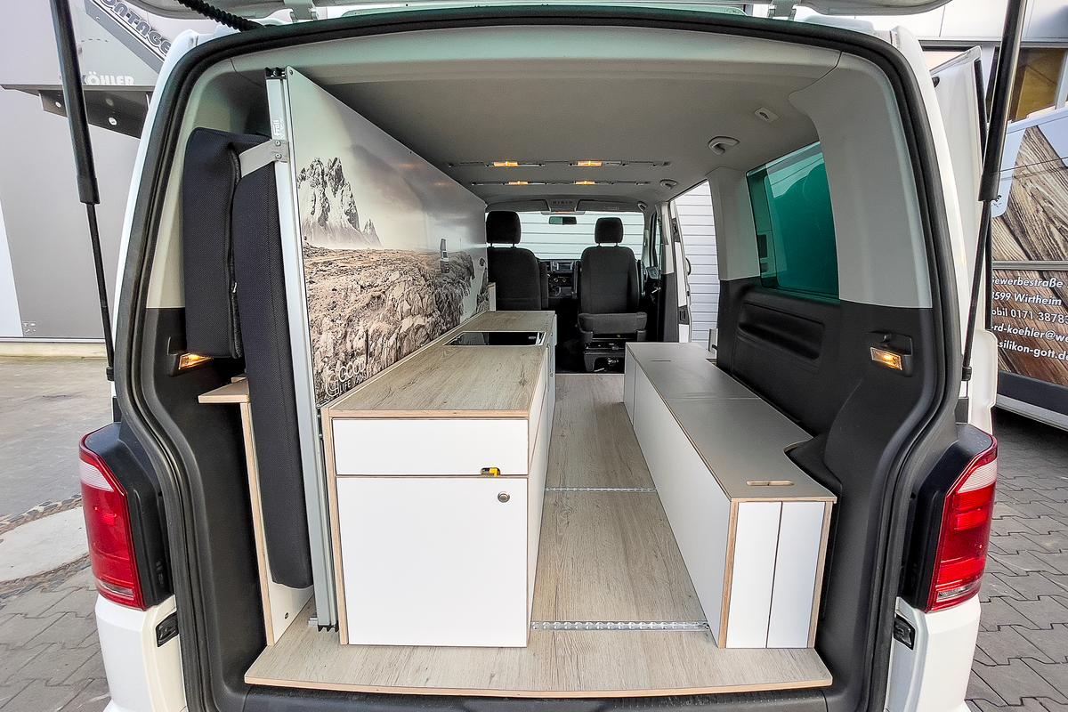 Good Life Vans Module One camper kit