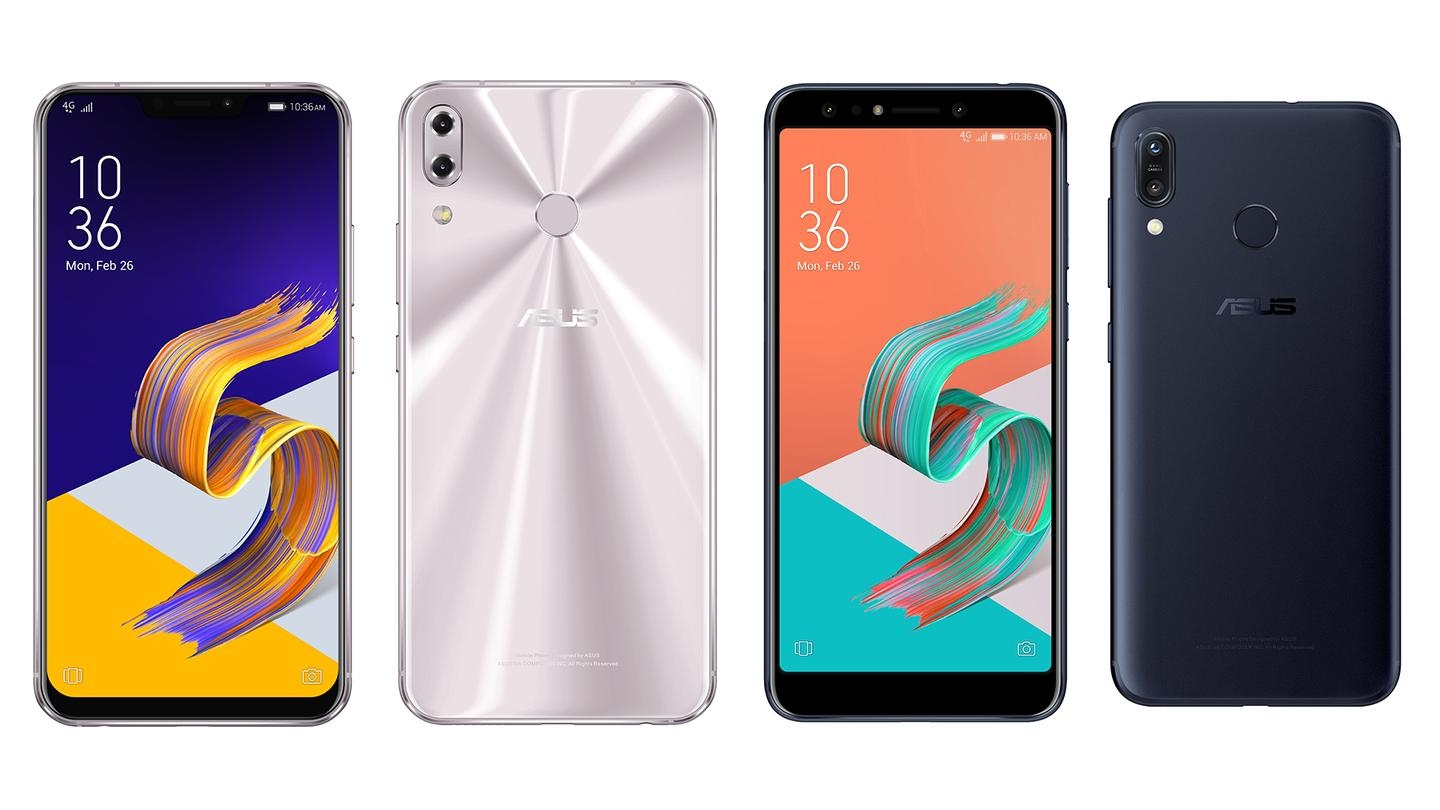 The Asus ZenFone 5 phones want to win on value if not